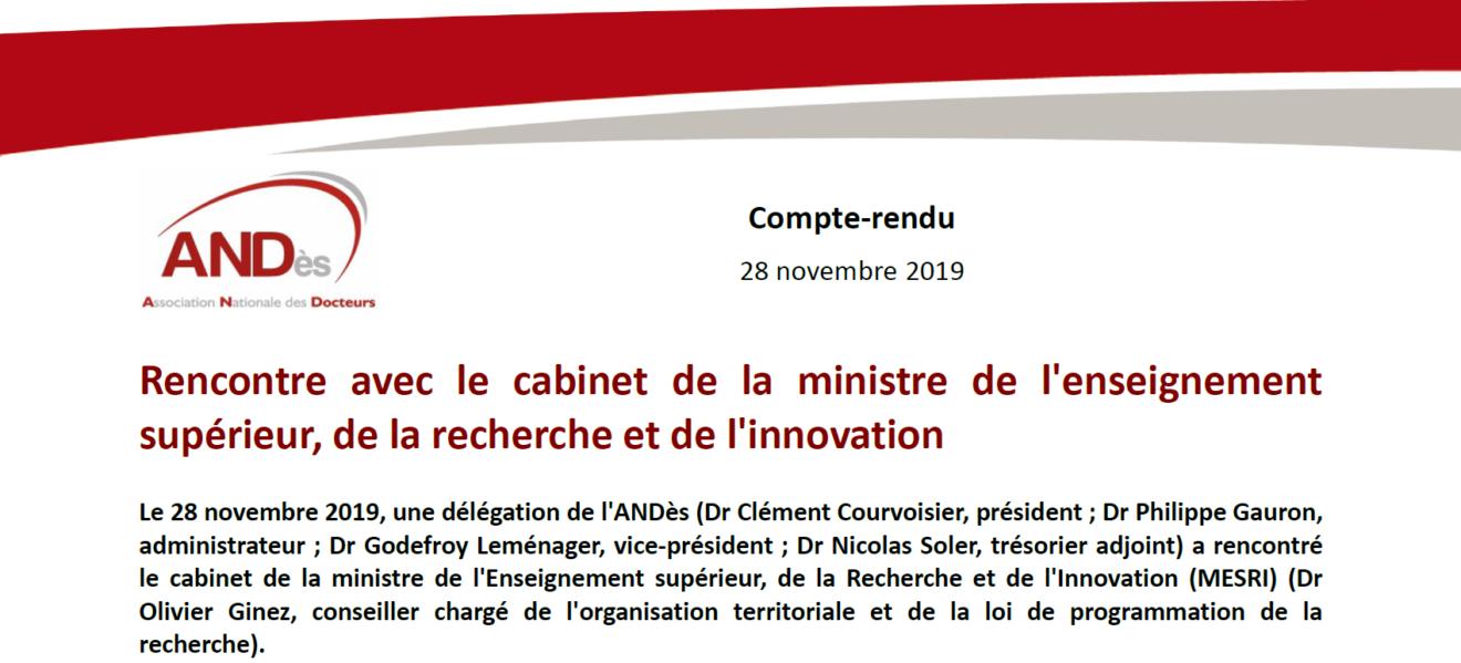 2019-11-28-Rencontre-avec-le-cabinet-de-la-ministre-de-l-ESRI